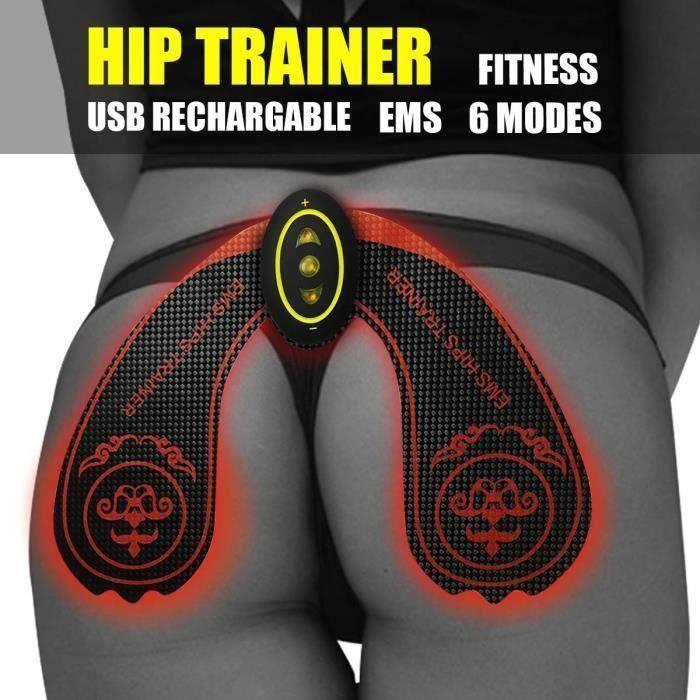 EMS Hanche Taille Entraîneur Fesses Levage 6 modes Muscle Stimulation Ceinture 1 SET Ve76351
