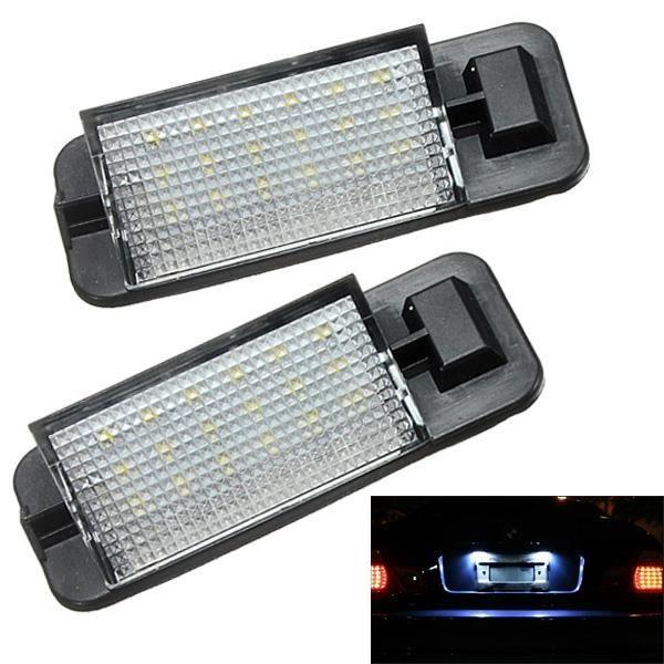 2 x 12V 18 LED Feux plaque immatriculation Arrière Éclairage pr BMW E36 Série 3 92-98