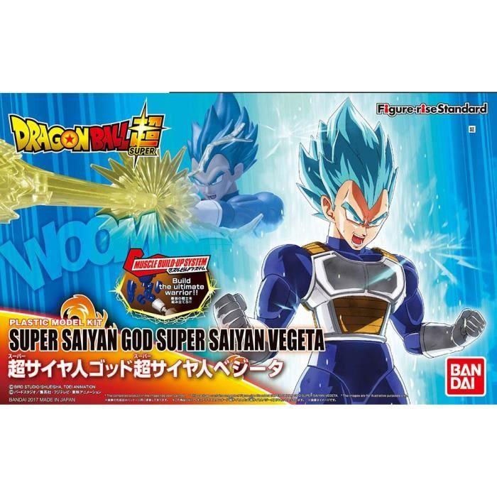 Figurine DRAGON BALL - Model Kit - Super Sayan GOD Vegeta