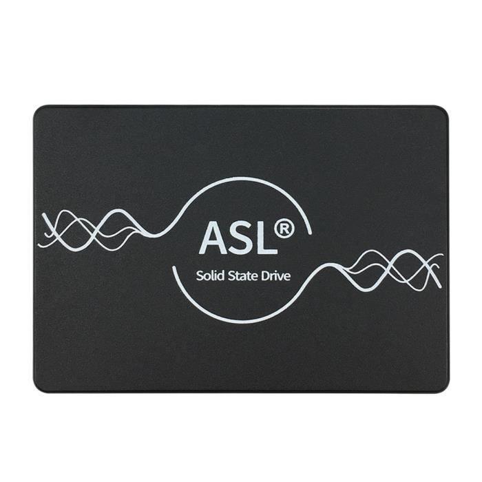 ASL- Disque SSD Interne - F500S - 120 Go - 3D NAND, SATA - 2,5