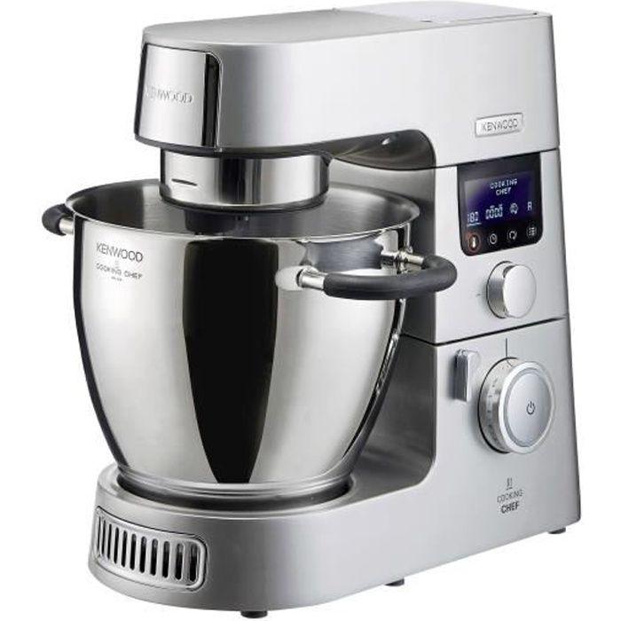 KENWOOD KCC9040S Cooking Chef XL Robot de Cuisine, 1500 W, Induction, Capacité de 6,7 L, 1,6 L