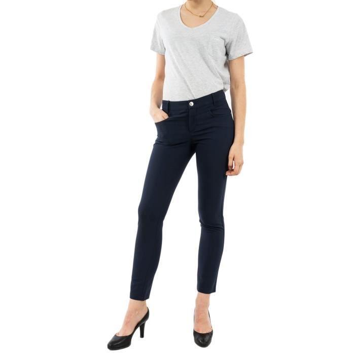 Pantalons Street One 372855 11238 Deep Blue