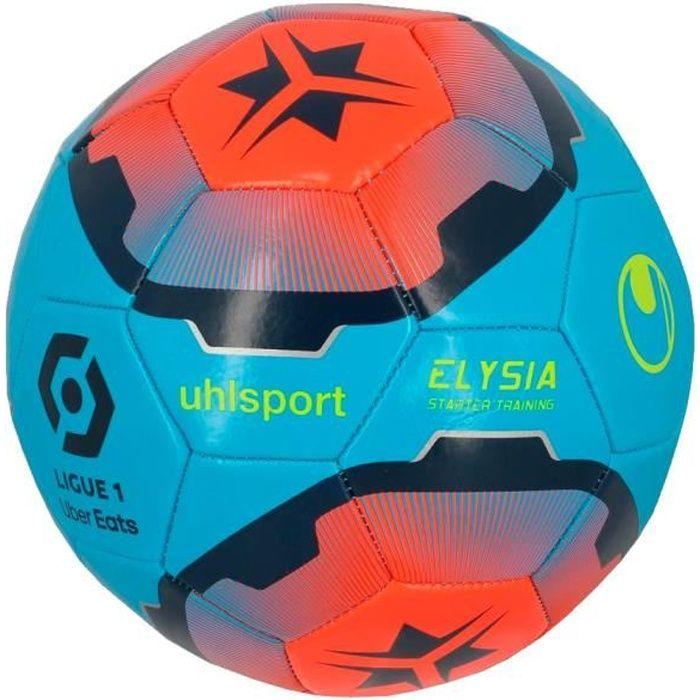Ballon bleu/orange Uhlsport Elysia Starter Ligue 1