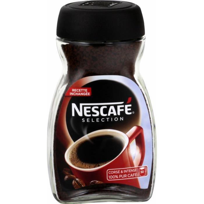 Café soluble 100g NESCAFE