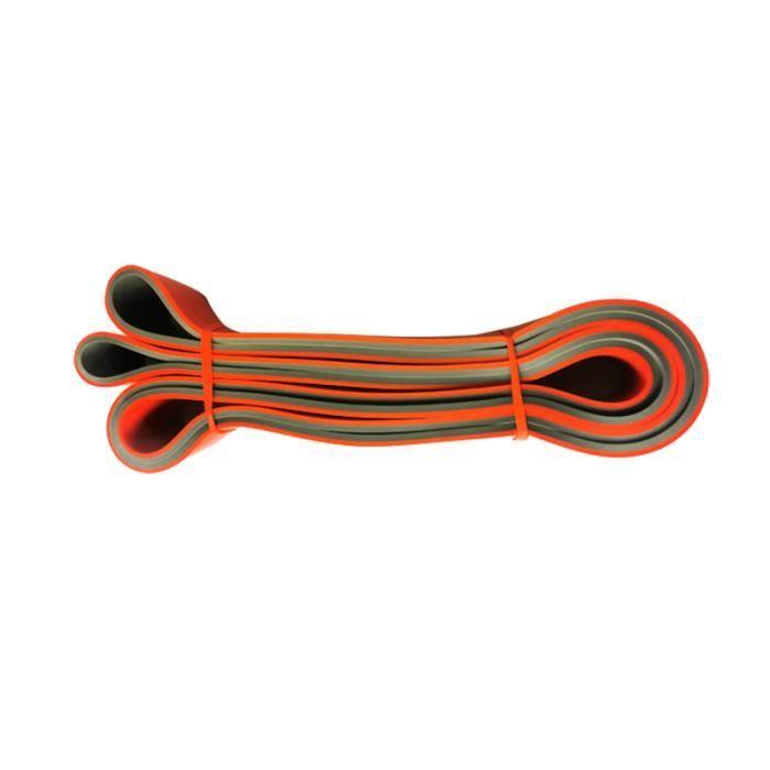 Bande de résistance à double couche exercice bandes élastiques boucle en caoutchouc exercice de ressort extenseur d'entraînement d