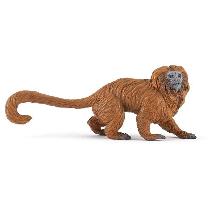 PAPO Figurine Tamarin lion doré