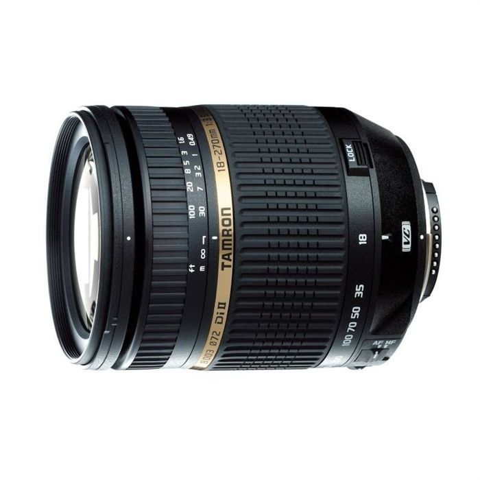 TAMRON AF 18-270 mm F/3.5-6.3 Di II VC pour Canon