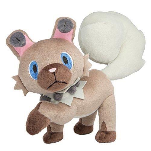 POKEMON T19327 Rockruff Plush Soft Toy, 8-Inch