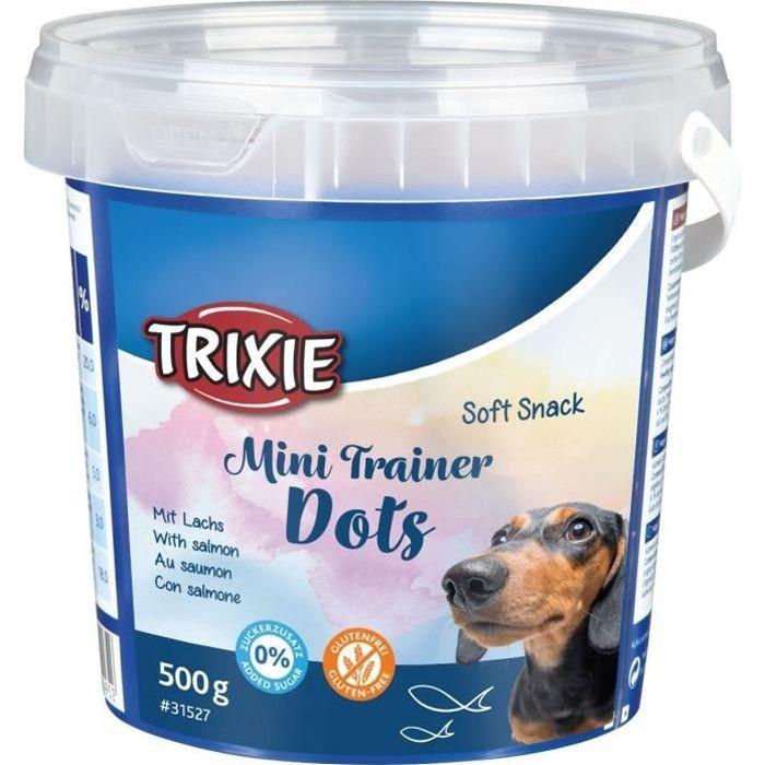 TRIXIE Soft Snack Mini Trainer Dots - Pour chien - 500 g