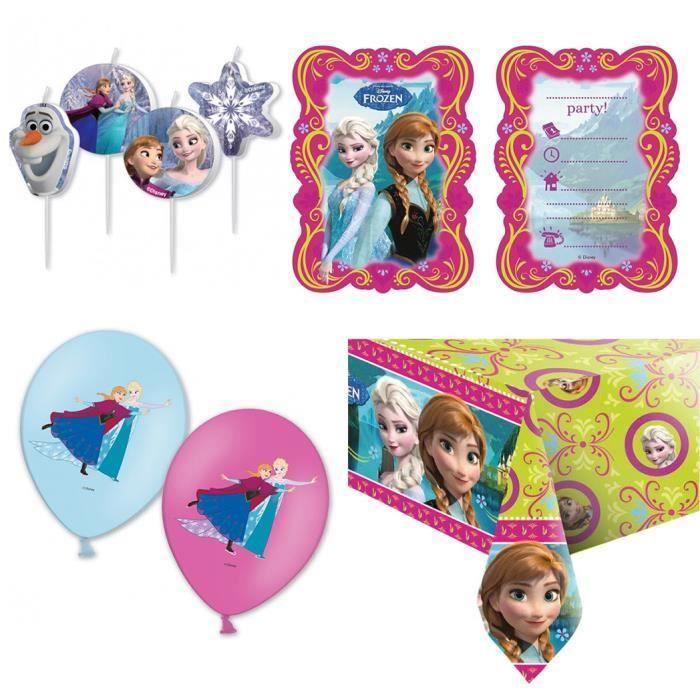 LOT 2 BALLONS REINE DES NEIGES ELSA ET ANNA//ANNIVERSAIRE//ENFANT//DECORATION//FETE