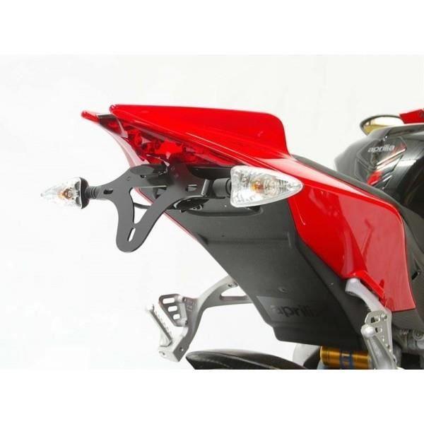 APRILIA RSV4 FEU-443929 V4 TUONO 50-125 RS4 SUPPORT DE PLAQUE R/&G Racing