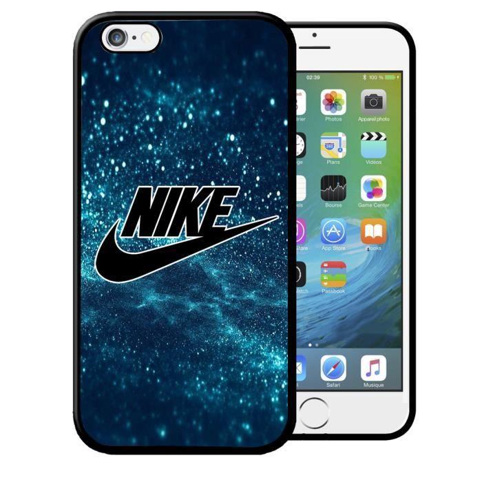 coque iphone 6 6s nike blue etui housse bumper