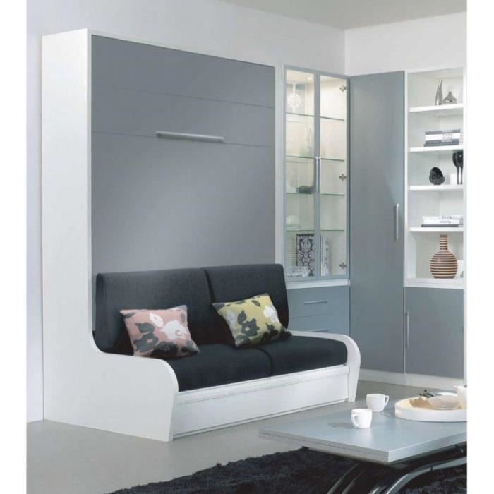 armoire lit escamotable campus autoporteur avec achat. Black Bedroom Furniture Sets. Home Design Ideas