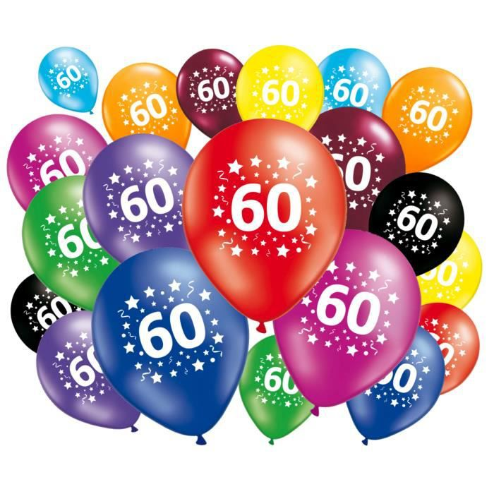 ballon 60 ans achat vente ballon 60 ans pas cher. Black Bedroom Furniture Sets. Home Design Ideas