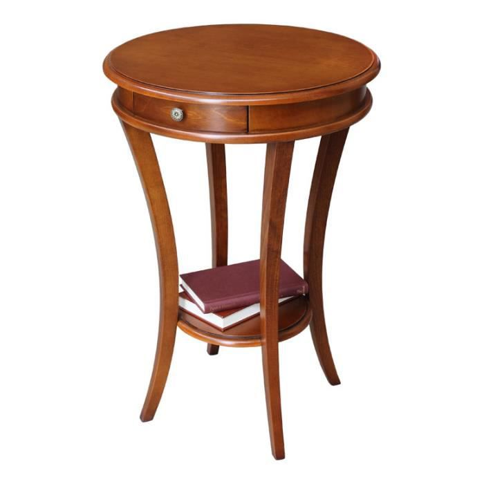 Petite table ronde table de lit for Petites tables rondes