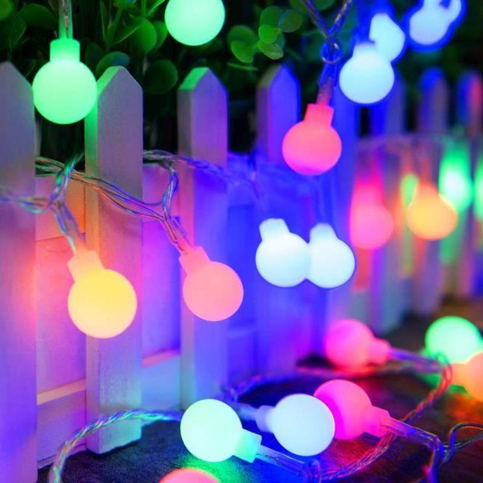 Guirlande lumineuse extérieure 300LED LUX Multicolore 18 mètres