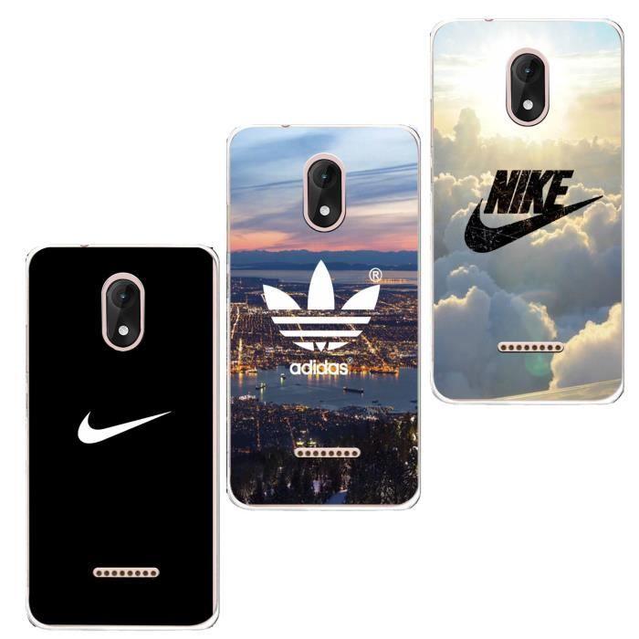 3 X Coque Wiko Sunny 3 Plus, Adidas et Nike Doux