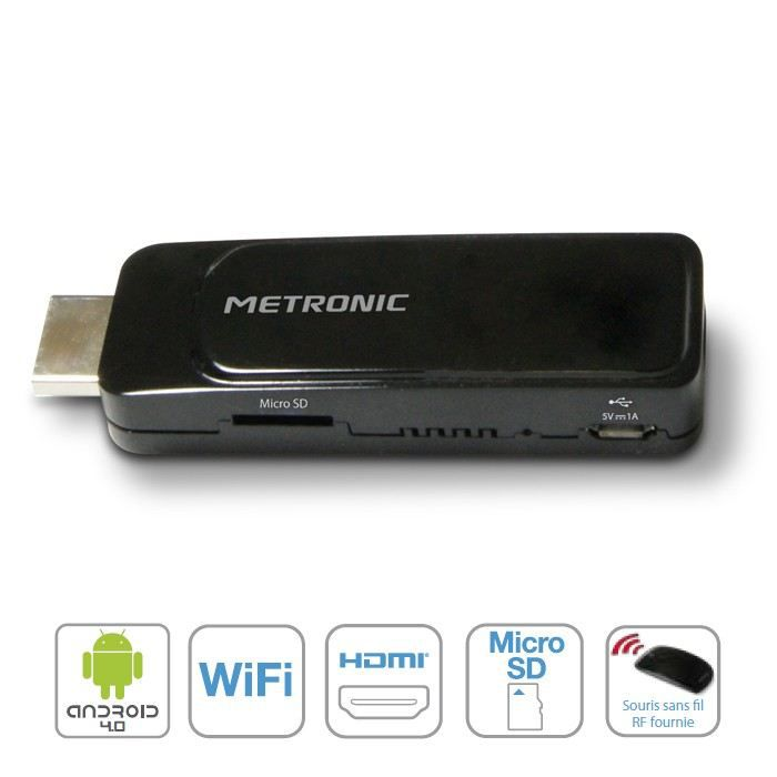 metronic 441270 stick usb android hdmi c ble tv vid o son avis et prix pas cher cdiscount. Black Bedroom Furniture Sets. Home Design Ideas