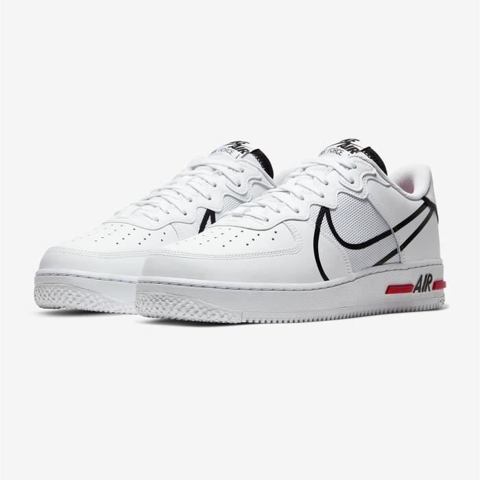 Basket Nike Air Force 1 React Chaussures Baskets Airforce One pour ...