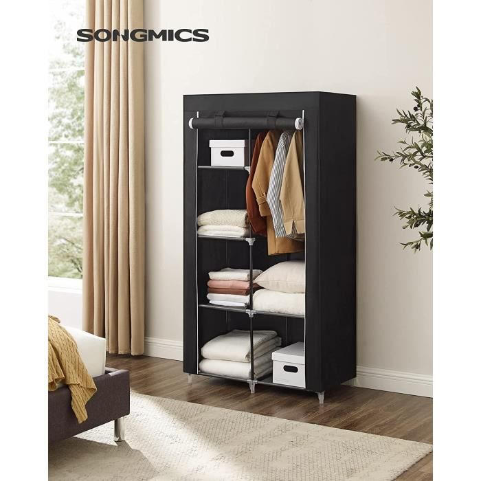 armoire penderie souple achat vente armoire penderie. Black Bedroom Furniture Sets. Home Design Ideas