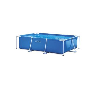 PISCINE INTEX Piscine rectangulaire tubulaire L2,60 x l1,6