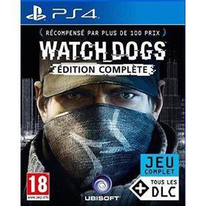 JEU PS4 Watch Dogs Edition Complète Jeu PS4