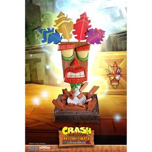 FIGURINE - PERSONNAGE Masque taille réelle Aku Aku Crash Bandicoot - 65