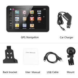 GPS AUTO Navigateur GPS de voiture Portable avec écran tact