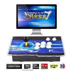 JEU CONSOLE RÉTRO Mecanique FZPGT 3d pandora key 7 console de jeux d