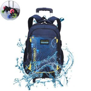 CARTABLE 2in1 Cartable a roulette Sac a dos garcon Sac a do
