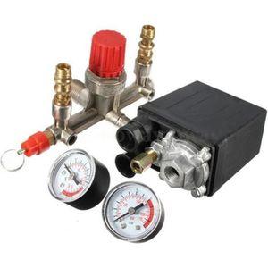 COMPRESSEUR Compresseur d'air Durable Pompe Pressostat avec Va