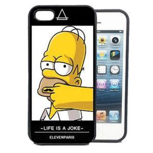 coque iphone 5 5s eleven paris homer simpsons mous