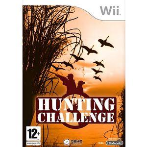 JEU WII Hunting Challenge sur Wii