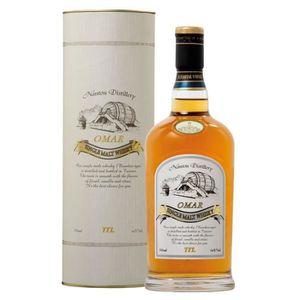 WHISKY BOURBON SCOTCH Whisky Omar - Boubon cask - Single Malt Whisky 46°