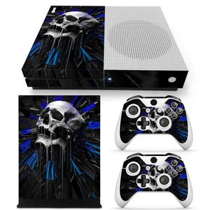 STICKER - SKIN CONSOLE Sticker pour XBOX ONE S + stickers 2 manettes Cloc