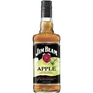 WHISKY BOURBON SCOTCH Jim Beam - Whisky Aromatisé à la Pomme - 35% - 70