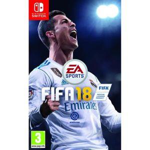 JEU NINTENDO SWITCH FIFA 18 Jeu Switch + 1 Manette Pro switch Nintendo