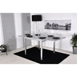 table carree extensible achat vente table carree. Black Bedroom Furniture Sets. Home Design Ideas