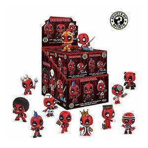 FIGURINE - PERSONNAGE Funko Mystery Minis: Deadpool- 1 Mystery Deadpool