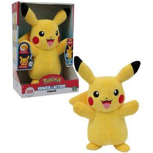 PELUCHE Giochi Preziosi Pokemon Pikachu interactif lumière