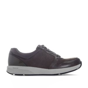 DERBY Baskets Rockport Derby pour femme en gris.