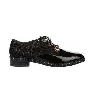 Chaussures femme à Noir Noir 36 MAM'ZELLE verni lacets 8nZ0ONwkXP