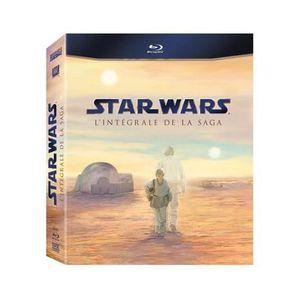 BLU-RAY FILM Star Wars - L'intégrale de la saga [Coffret 9 B…