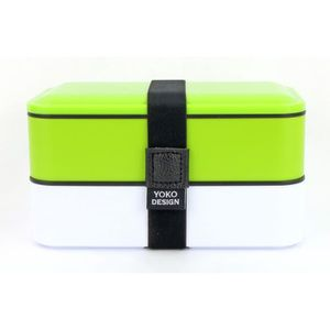 LUNCH BOX - BENTO  YOKO DESIGN Lunch box 2 étages - Coloris vert - 12