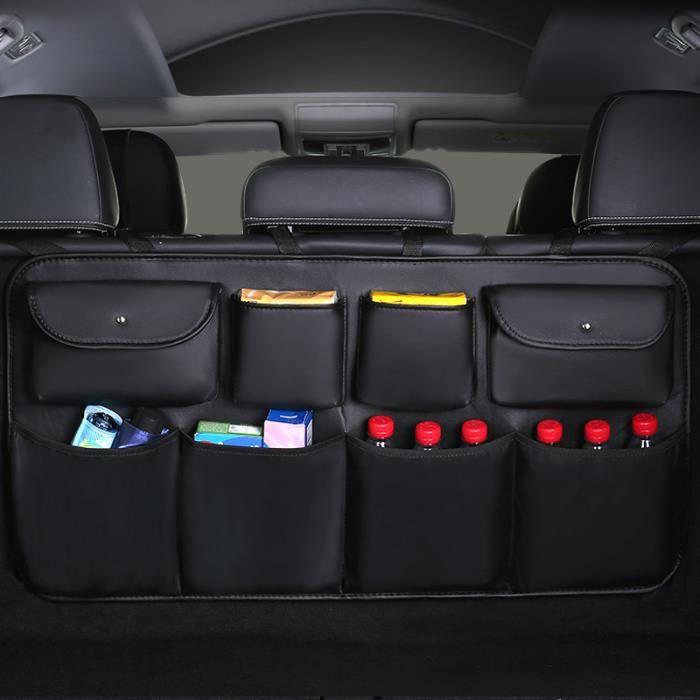 Sac de rangement pour coffre de voiture SUV Sac de rangement pour filet de voiture noir