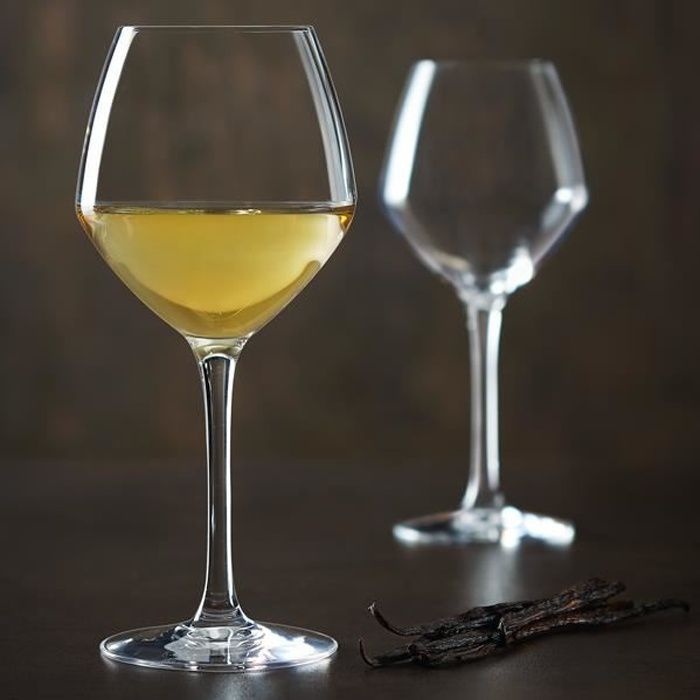 6 verres à vin 47cl Cabernet Vins Jeunes - Chef&Sommelier - Cristallin design moderne ultra transparent