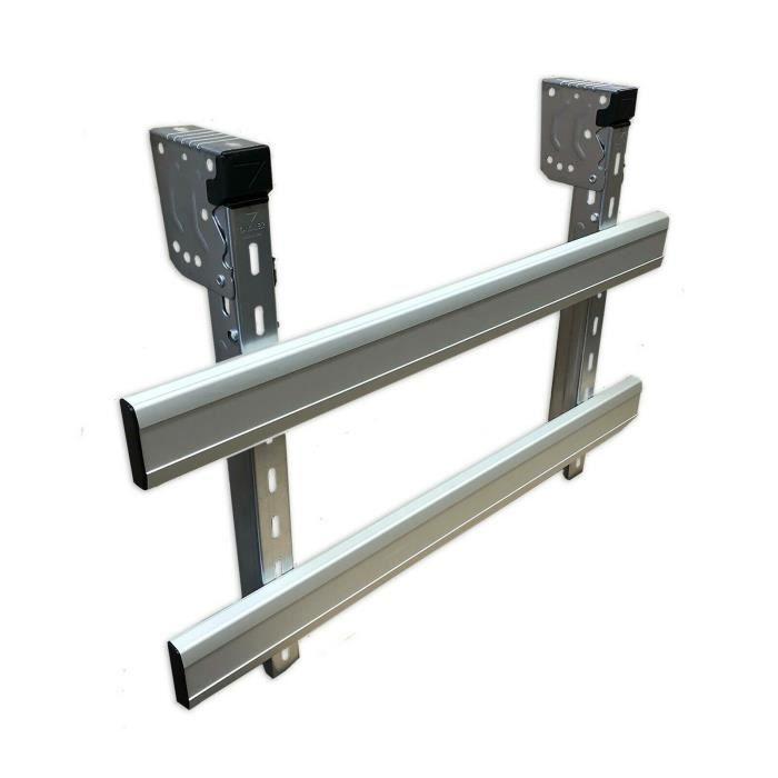 Protection latérale anti-encastrement - 1,50m - Double protection pliable pour camion remorque