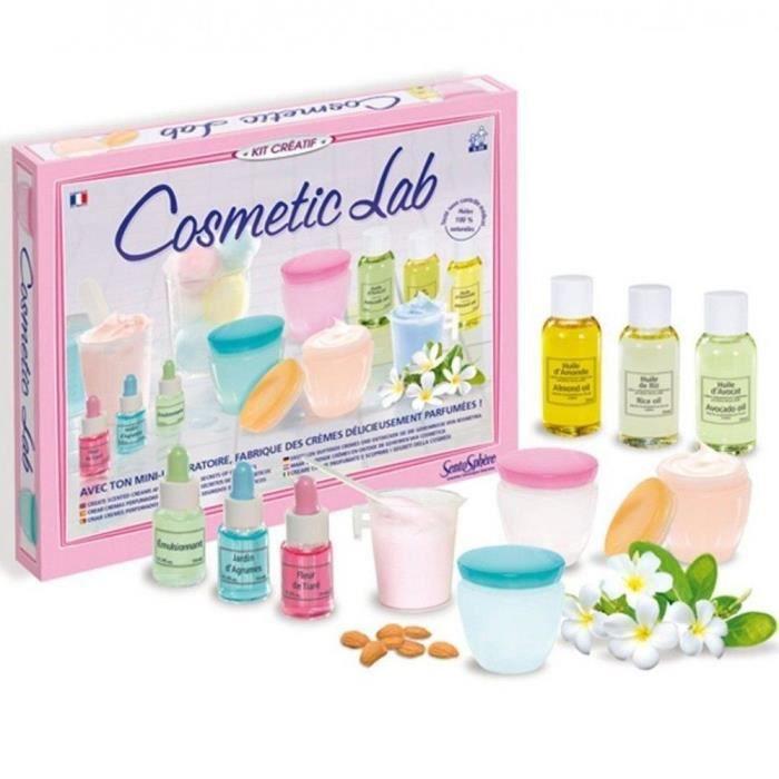 SENTOSPHERE Jeu Cosmetic Lab - Pour Enfant