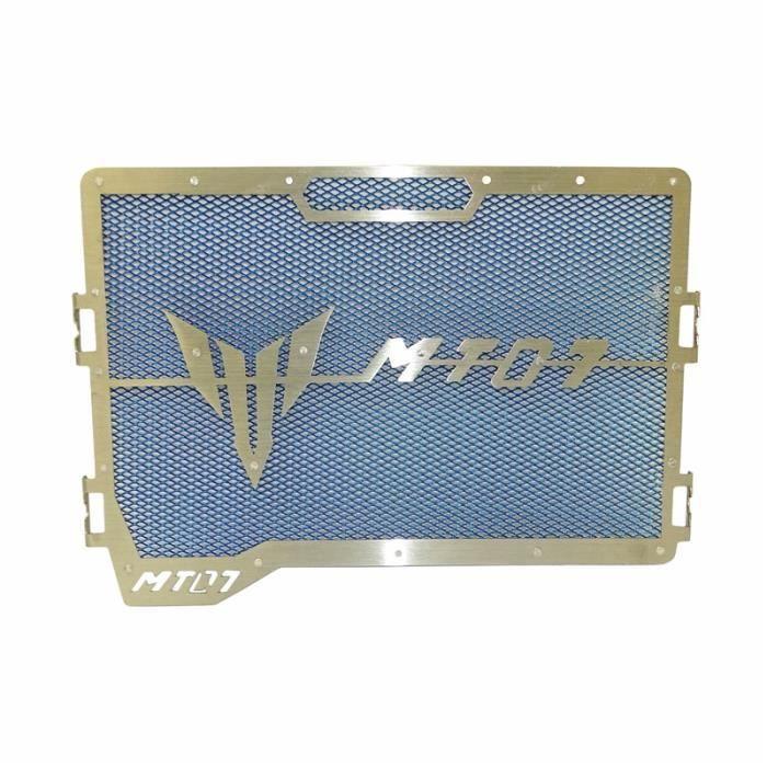 Mota Grille de Radiateur MT-07 Acier Inoxydable couleur Bleu Protection Pare Pierre 2014-2020 Accessoire Equipement