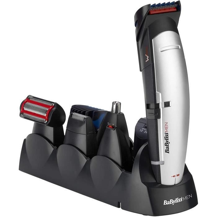 BaByliss MEN Tondeuse multi-usages Kit X-10